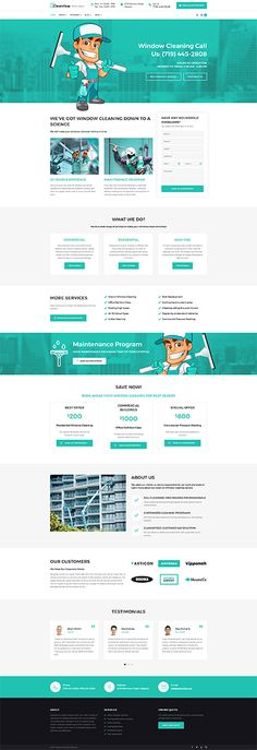 Clearview - #windows  #cleaning  Services #wordpress  #theme