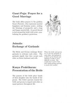 """Feynman-style Hindu wedding program"" #nerdalert"