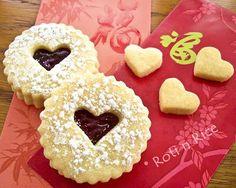 Valentine Linzer Cookies Recipe | Yummly
