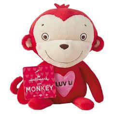 Hallmark Luv Monkey Stuffed Animal Plush - The Four Seasons International