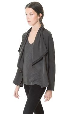 Zara cardigan will have a new home, in my closet.