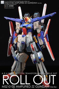 強化型ZZ GUNDAM Ver.Ka Lionel Messi Wallpapers, Sci Fi Models, Gunpla Custom, Mecha Anime, Gundam Model, Mobile Suit, Plastic Models, Model Kits, Toys