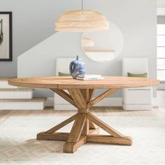 Dining Tables & Kitchen Tables Up to off With Labor Day Sales 60 Round Dining Table, Dining Table Sale, Solid Wood Dining Table, Dining Table In Kitchen, Table And Chairs, Side Chairs, Circular Dining Table, Rustic Kitchen, Round Wood Table
