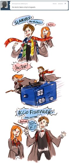 The Doctor takes a trip to Hogwarts.Why has this not happened?