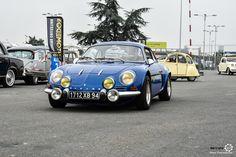 Alpine A110 à Automédon. #MoteuràSouvenirs Reportage complet sur : http://newsdanciennes.com/2016/10/10/automedon-2016-de-tout-et-pour-tout-le-monde/
