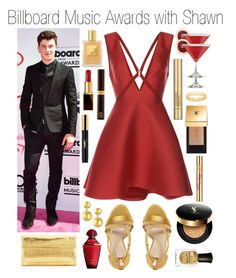 """Billboard Music Awards with Shawn Mendes"" by plnzh ❤ liked on Polyvore featuring Balenciaga, Zuhair Murad, Imagine by Vince Camuto, Nancy Gonzalez, Guerlain, Gurhan, Tom Ford, Yves Saint Laurent, Estée Lauder and Deborah Lippmann"