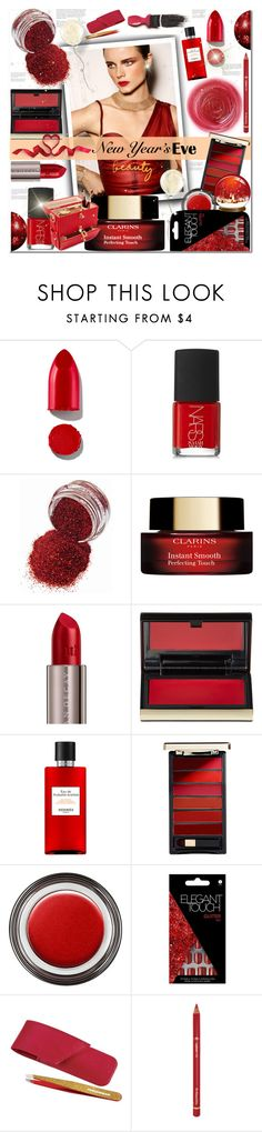 """""""NEW YEAR EVE BEAUTY"""" by sweta-gupta ❤ liked on Polyvore featuring beauty, Avon, Rituel de Fille, Rodin, NARS Cosmetics, Urban Decay, Kevyn Aucoin, L'Oréal Paris, Giorgio Armani and Tweezerman"""