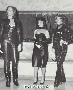 Atomage Pictures A5 Edition 32 Hobble Skirt, Leather Dresses, Photos Of Women, Rain Wear, Fashion Show, Women's Fashion, Appreciation, Vintage Fashion, Magazine