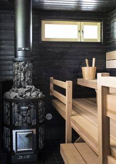 Outdoor Bined Sauna with Rest area and Shower From isauna Sauna House, Sauna Room, Scandinavian Saunas, Building A Sauna, Sauna Heater, Outdoor Sauna, Sauna Design, Inside A House, Finnish Sauna