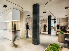LUBIANA: (UN)CURTAIN OFFICE BY DEKLEVA GREGORIC ARCHITECTS
