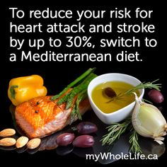 There's no denying the benefits of a #Mediterranean diet. Researchers have found it not only helps reduce risk of heart disease and stroke, it also slows down aging and can help increase lifespan. For a list of the top 5 mediterranean foods for #hearthealth plus holistic tips for heart disease and stroke healing: