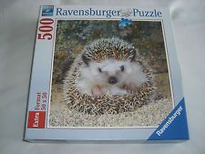 Lovely Hedgehog, Ravensburger 500 piece jigsaw puzzle