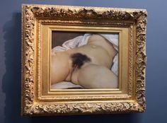 The Origin of the World (L'Origine du monde), 1866, Musée d'Orsay, Paris
