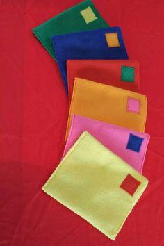 Enveloppen horend bij mijn tafeltent!