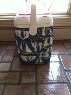 paint a lilly cooler... summer project for myself. I'm ready to paint something for me.