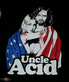uncle acid and the deadbeats Rock Posters, Band Posters, Concert Posters, Gig Poster, Stoner Rock, Stoner Art, Heavy Rock, Heavy Metal, Psychedelic Rock
