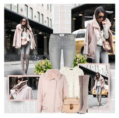 """""""Happy Hours"""" by bklana ❤ liked on Polyvore featuring Paige Denim, Banana Republic, IRO, Chloé and Stuart Weitzman"""