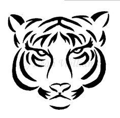 simple tiger - Google Search