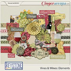 Vines & Wines Elements
