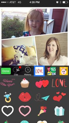 Photo Grid collage with stickers. It's the most popular collage app out there. But be careful, all those stickers are addicting!