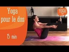 Yoga pour le dos - YouTube perso, je répéte plusieurs fois les exercices , éprouver le ressenti et enchainer sur l'exercice suivant :) postures : cigogne, chat, chien tête en bas, bateaux,...