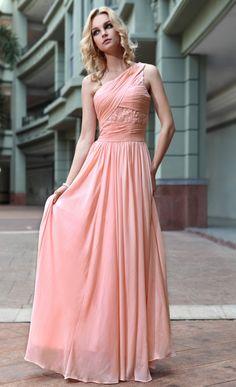 2015 Diamante Changeable Silk A-Line One-Shoulder Neckline Prom Dress 32583