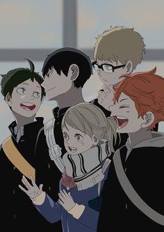 Haikyuu Funny, Haikyuu Fanart, Haikyuu Anime, Fanarts Anime, Manga Anime, Anime Art, Haikyuu Characters, Anime Characters, Hinata