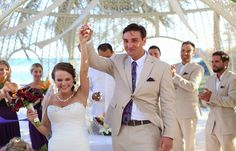 Jessica & Ryan's destination wedding in Mexico, Mexico beach wedding, Mexico wedding ideas @destweds