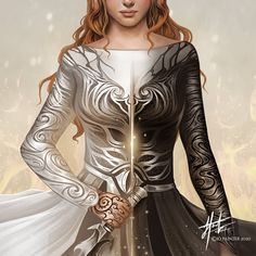 I updated a previous painting of Feyre for the lovely folks over at 💜 they wanted something that represented both her light… A Court Of Wings And Ruin, A Court Of Mist And Fury, Aelin Galathynius, Feyre And Rhysand, Sarah J Maas Books, Throne Of Glass Series, Crescent City, Cover Pics, Mists