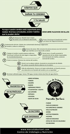 Hábitos que dañan a tu cerebro y a tu salud