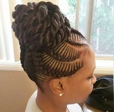 31 stylish ways to rock cornrows rope twist cornrows and updo gorgeous spin on braided up dos pmusecretfo Image collections