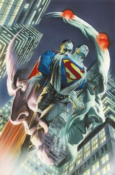 JUSTICE #4 by Alex Ross. Haha, I have all 12 issues :)