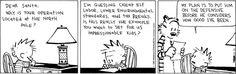 Calvin and Hobbes Comic Strip, December 10, 2012 on GoComics.com