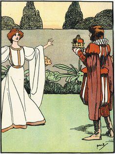 Beauty and the Beast, John Hassall, c. 1920.