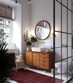 Casinha colorida: Pensando no chuveiro do seu banheiro