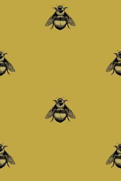 Timorous Beasties Napoleon Bee Wallpaper