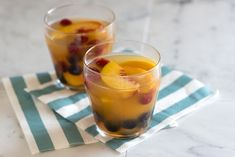 White Wine and Peach Sangria Recipe 2