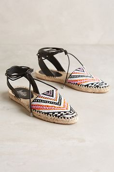 Belle by Sigerson Morrison Maie Espadrilles #anthropologie