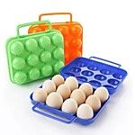 1pcs 15 пустой холодильник кухни яйца хранения коробка держатель сохранение коробка переносной пластик положить яйца коробка домашняя 2017 - $2.99