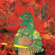 12 Bar Bruise is the first studio album by King Gizzard & The Lizard Wizard, released September Elements Of Film, Psychedelic Rock Bands, Surf Music, Vinyl Sleeves, Progressive Rock, Art Graphique, Cover Art, Lp Cover, Album Covers