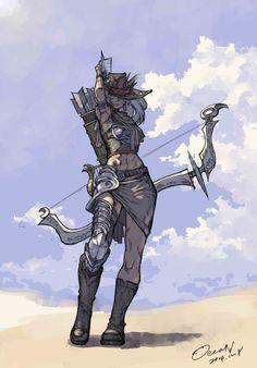 Final Fantasy XIV - Hyur (Bard) | Realm reborn