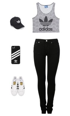 """""""Untitled #3"""" by antoni-huggins on Polyvore featuring adidas Originals, MM6 Maison Margiela and adidas"""