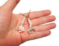 Sailor Moon, sailormoon earrings, Princess earrings, Silver Moon Imperium Crystal, Pearl Earrings sailormoon jewelry