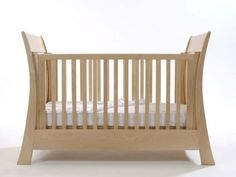 Arcadia Modern Sleigh Cot by Bambizi