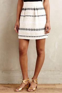 Goldfleck Mini Skirt - anthropologie.com #anthrofave