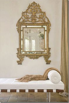 """""""Pamela Pierce's Top 10 Picks"""" Venetian Plaster Walls There is nothing prettier than the simplicity of having a Venetian plaster wall with no color or a small amount of buff pigment added. You never have to paint and all of your beautiful things Gray Interior, Interior Design Tips, Interior Decorating, Modern Interior, Design Ideas, Venetian Plaster Walls, Veranda Magazine, Beautiful Mirrors, Beautiful Things"""