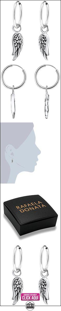 Rafaela Donata - Aros con plumas - 925 Plata esterlina, Pendientes, Pendientes de Plata esterlina, Joyería de plata - 60903068  ✿ Joyas para mujer - Las mejores ofertas ✿ ▬► Ver oferta: https://comprar.io/goto/B00N4Y8KT2