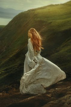 """""""I followed the horizon line up the sloping curve to the top of the hill. Perhaps one day I would climb that hill, explore the horizon.  Perhaps. """" -Saving Marilee  Highlands by TJ Drysdale Photography"""
