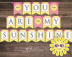 Instant Download You Are My Sunshine Baby by Studio20Designs