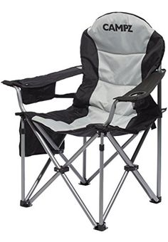 KingCamp Camping Chair Heavy Duty Lumbar Back Support Oversized Quad Arm Chair Padded Folding Deluxe with Cooler Armrest Cup Holder Supports 350 lbs *** Be sure to check out this awesome product. (This is an affiliate link) Folding Camping Chairs, Lawn Chairs, Outdoor Chairs, Adirondack Chairs, Lounge Chairs, Room Chairs, Quad, Tent Cot, Tela